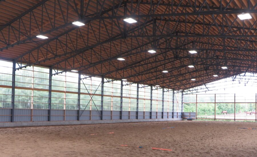 Indoor Arena, manege interieur